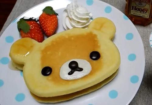 Jana 2013 tasting pancakes with cum